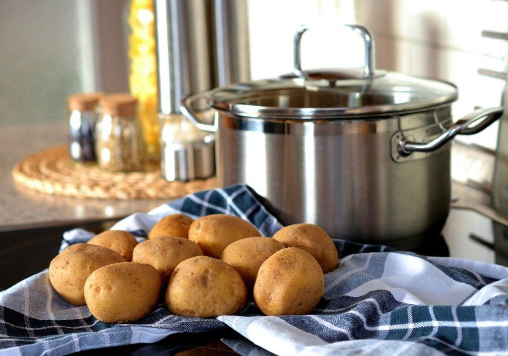 potato, cook, pot